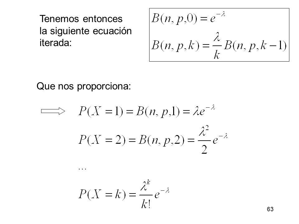 También podríamos calcularlo usando la distribución de Poisson.