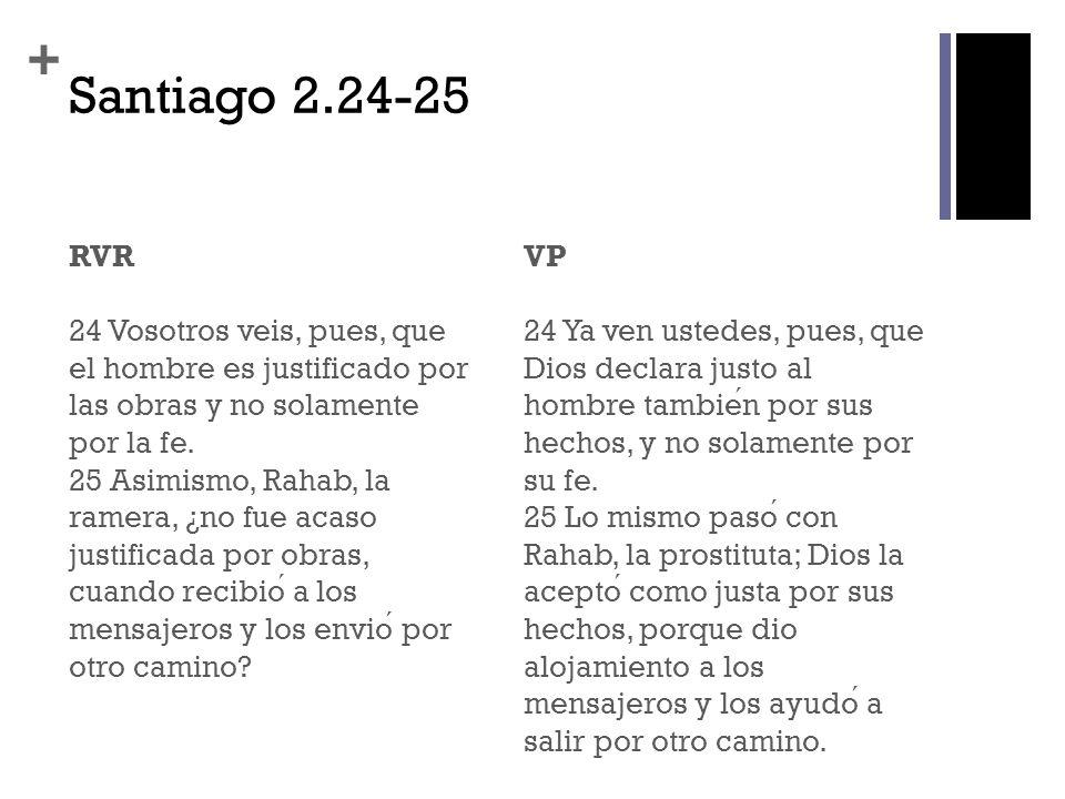 Santiago 2.24-25