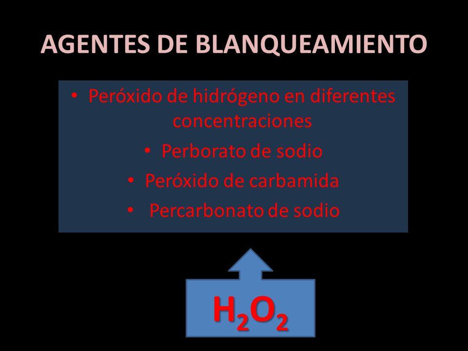 AGENTES DE BLANQUEAMIENTO