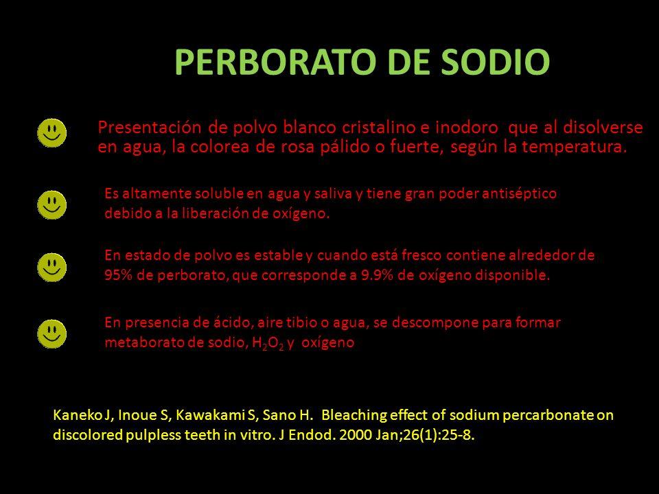 PERBORATO DE SODIO