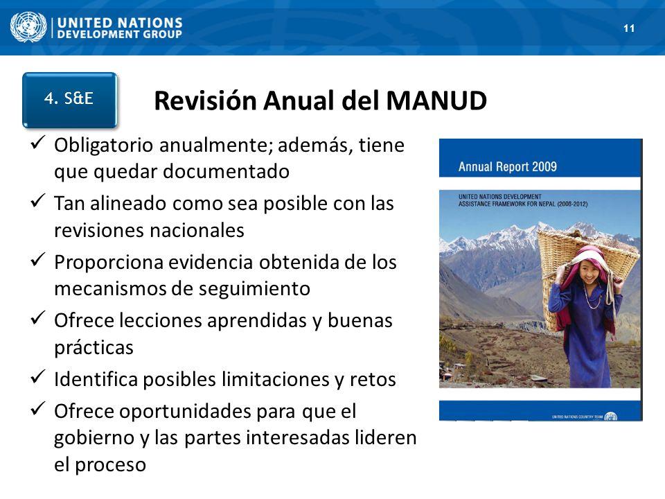 Revisión Anual del MANUD