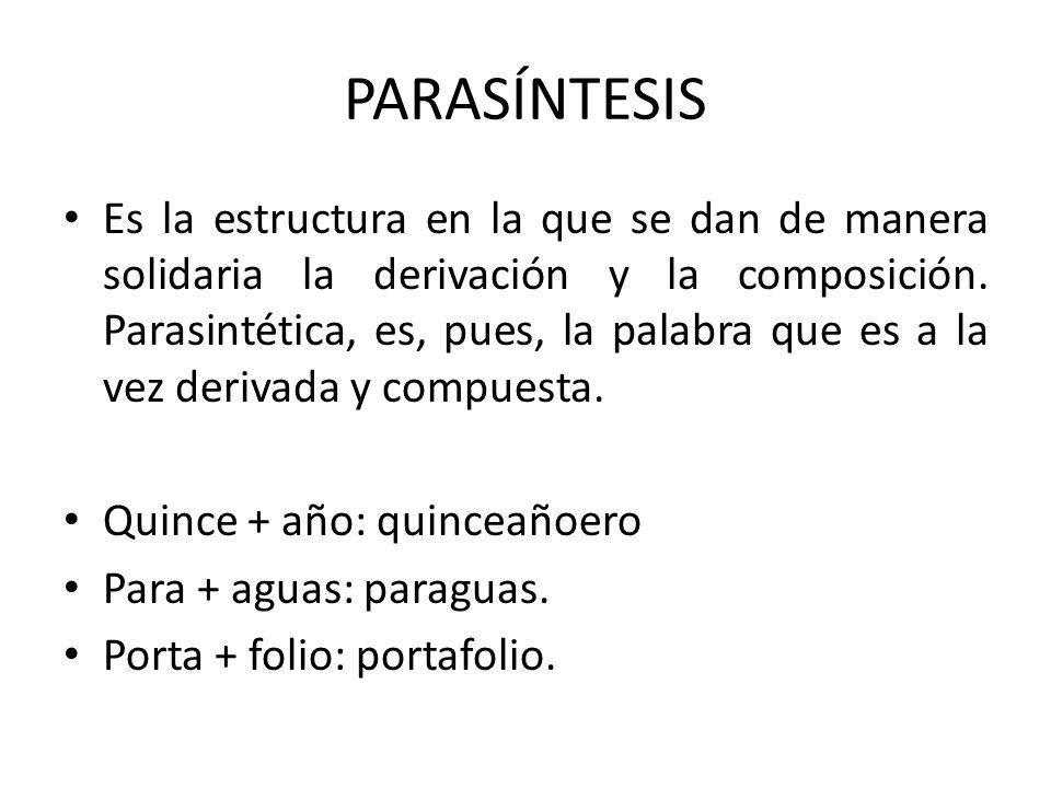PARASÍNTESIS