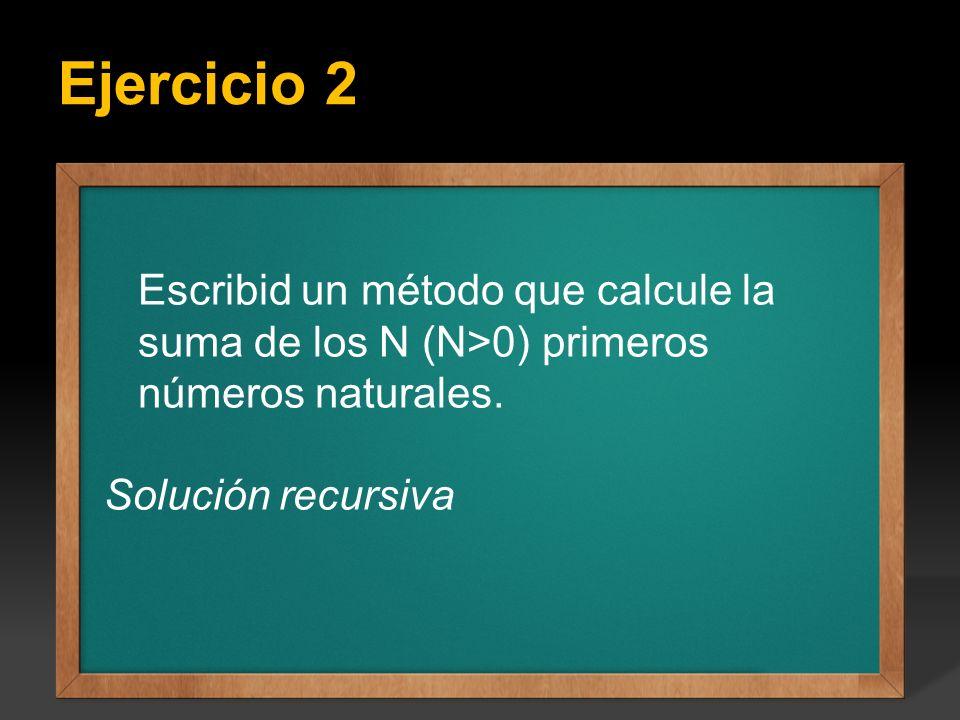 Ejercicio:Escribir un programa que calcule todos los factoriales del 1 hasta el valor.
