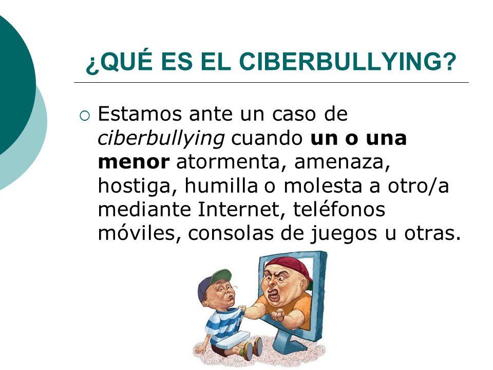 ¿QUÉ ES EL CIBERBULLYING