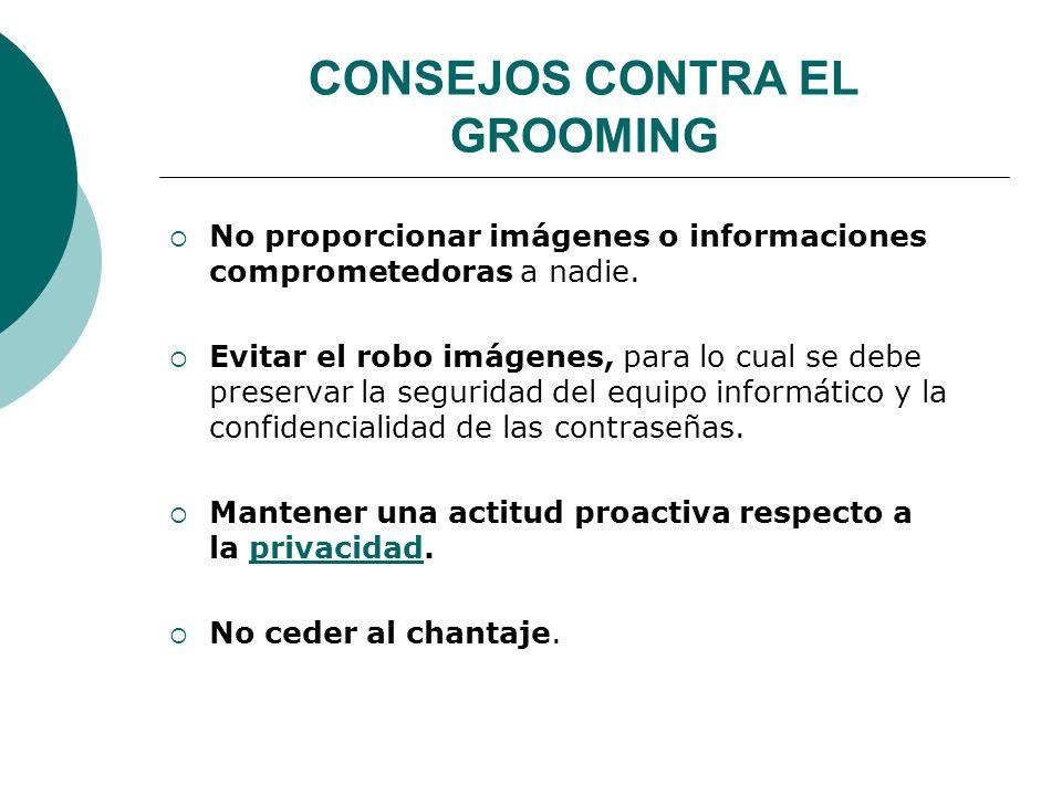 CONSEJOS CONTRA EL GROOMING