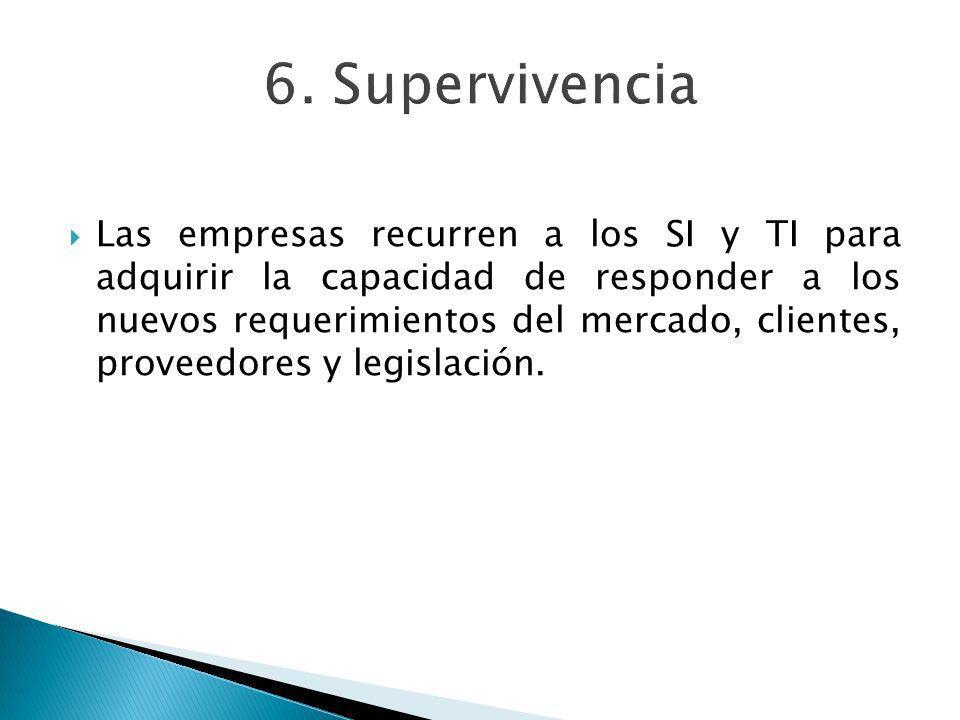 6. Supervivencia