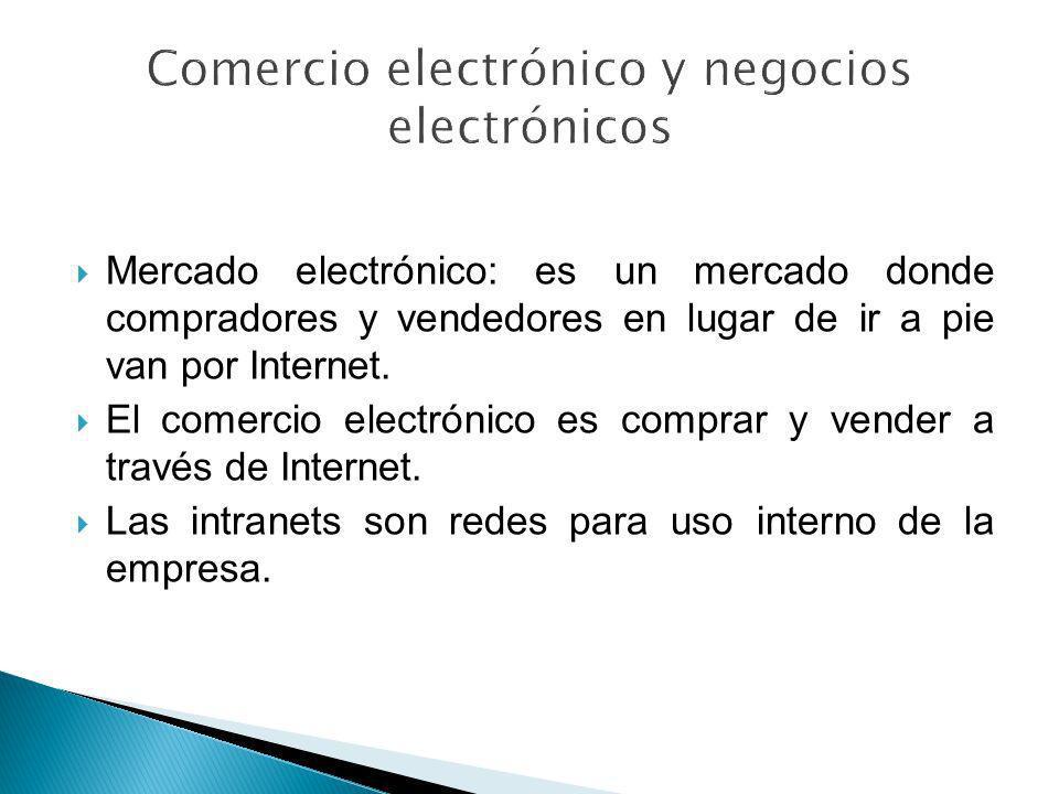 Comercio electrónico y negocios electrónicos