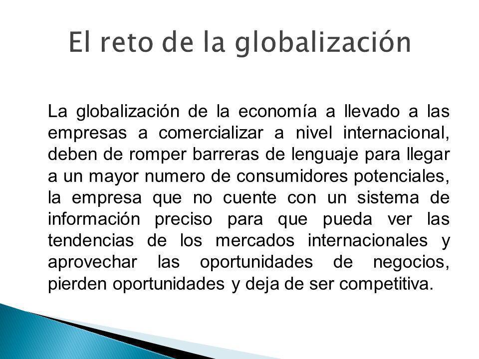 El reto de la globalización