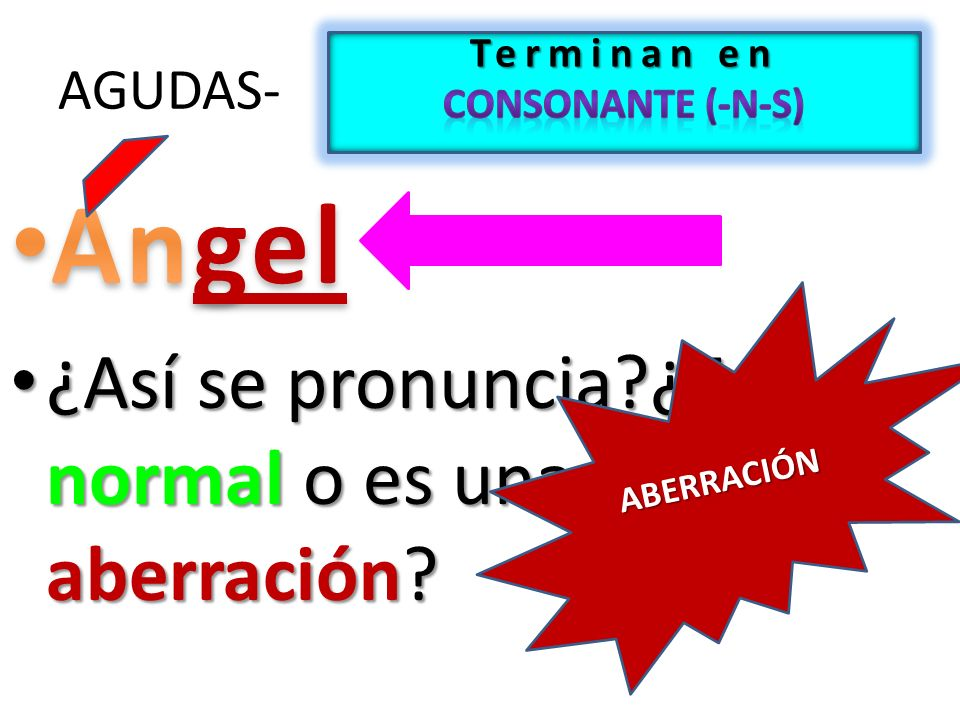 Terminan en consonante (-n-s)