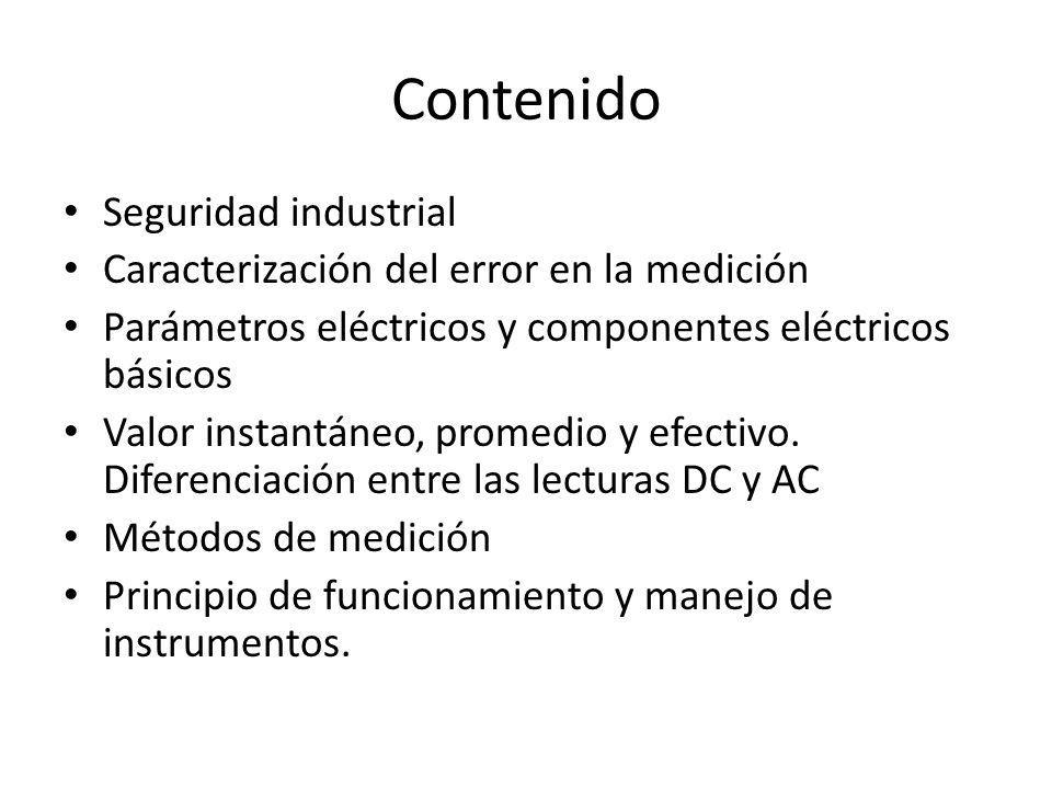 Contenido Seguridad industrial
