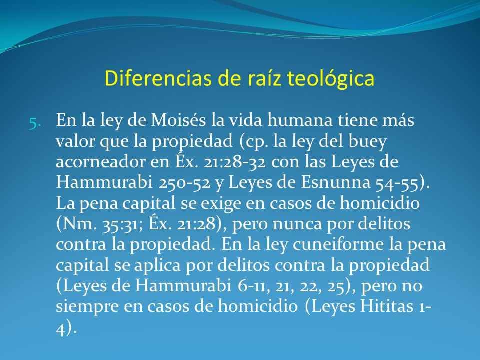 Diferencias de raíz teológica