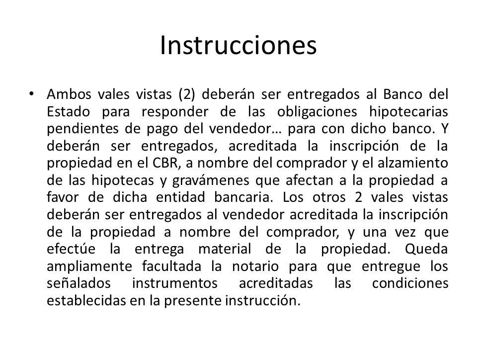 Instrucciones