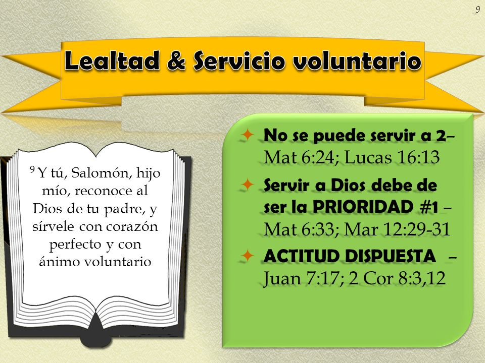 Lealtad & Servicio voluntario