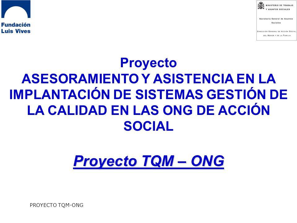 Proyecto TQM – ONG Proyecto