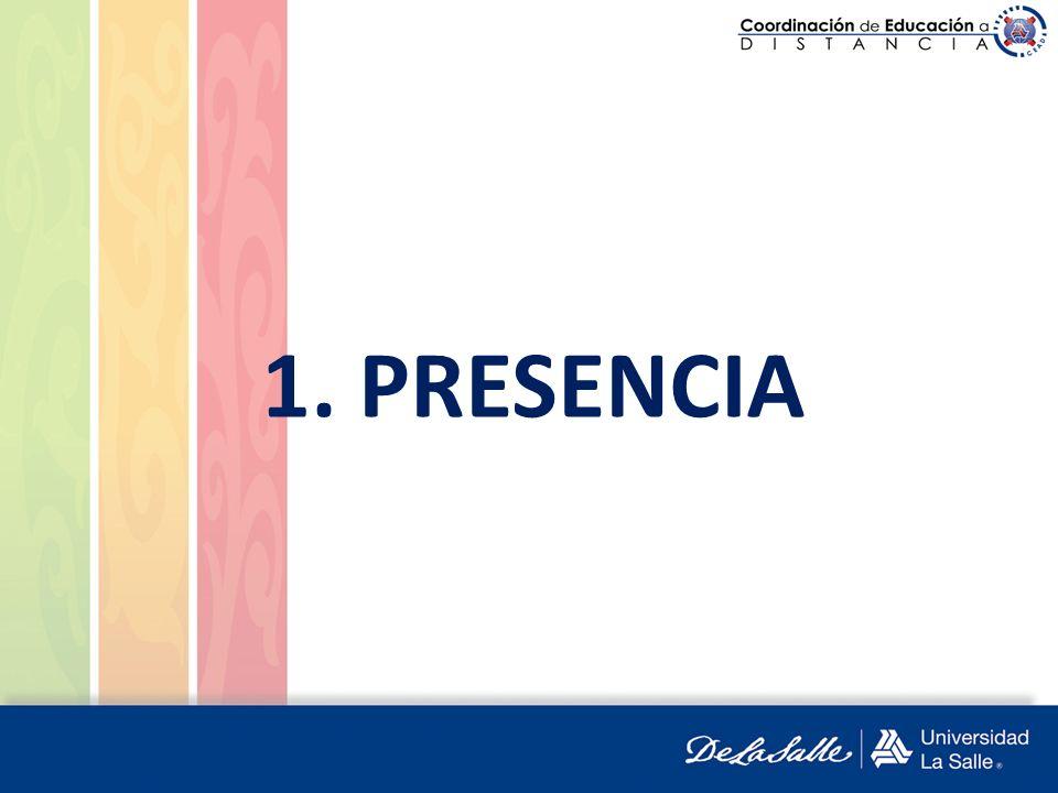 1. PRESENCIA