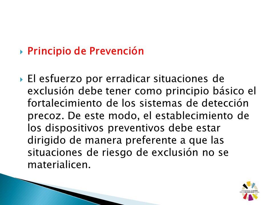 Principio de Prevención