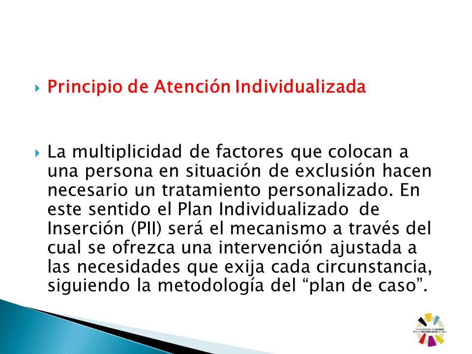 Principio de Atención Individualizada