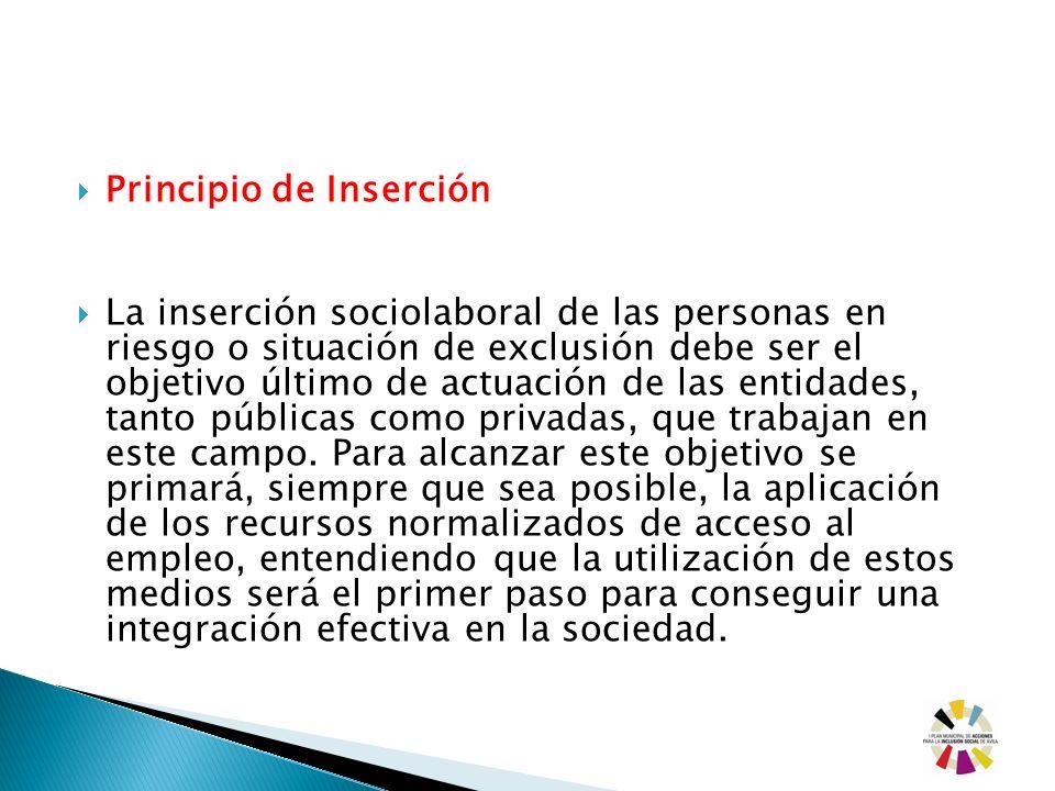 Principio de Inserción