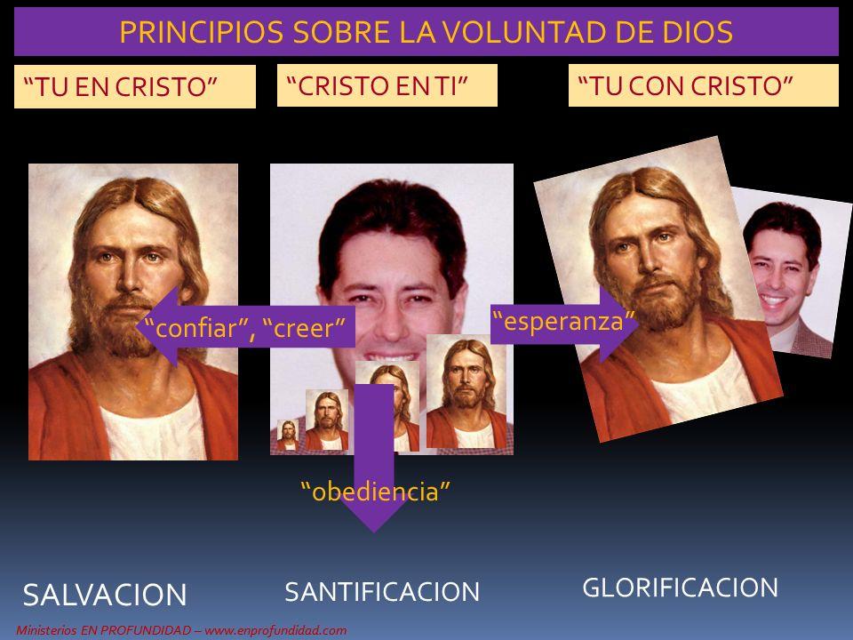 PRINCIPIOS SOBRE LA VOLUNTAD DE DIOS