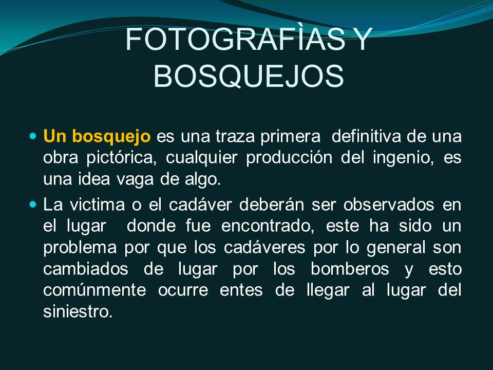 FOTOGRAFÌAS Y BOSQUEJOS