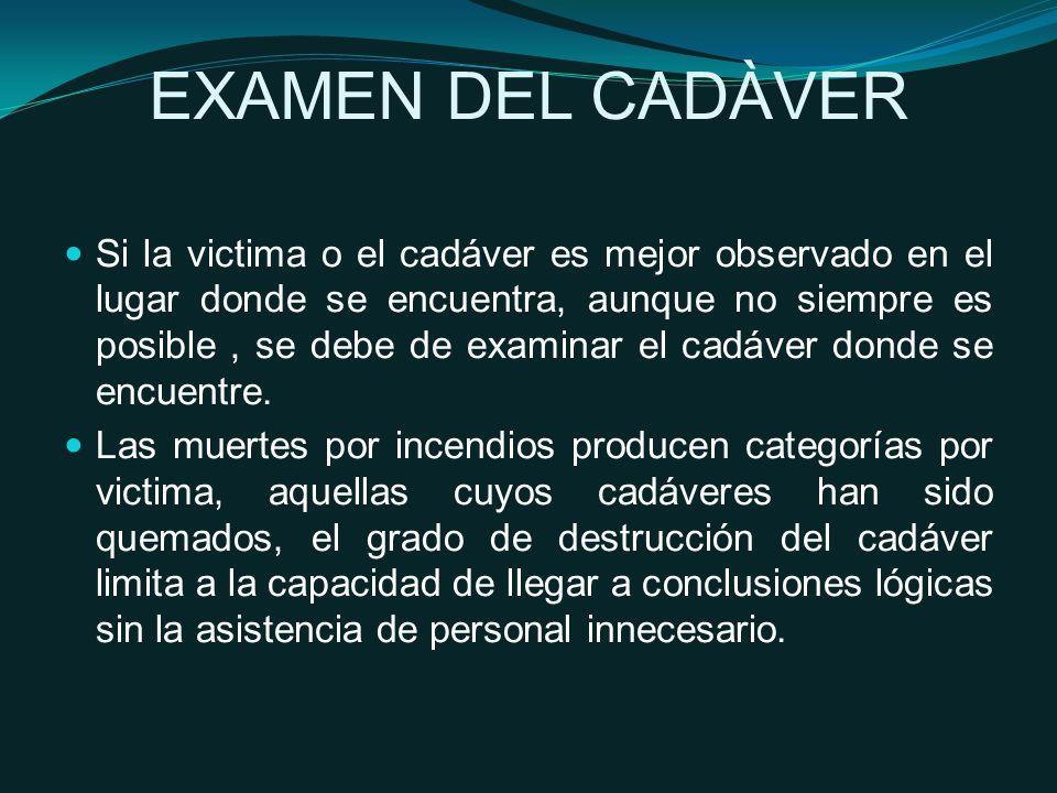 EXAMEN DEL CADÀVER