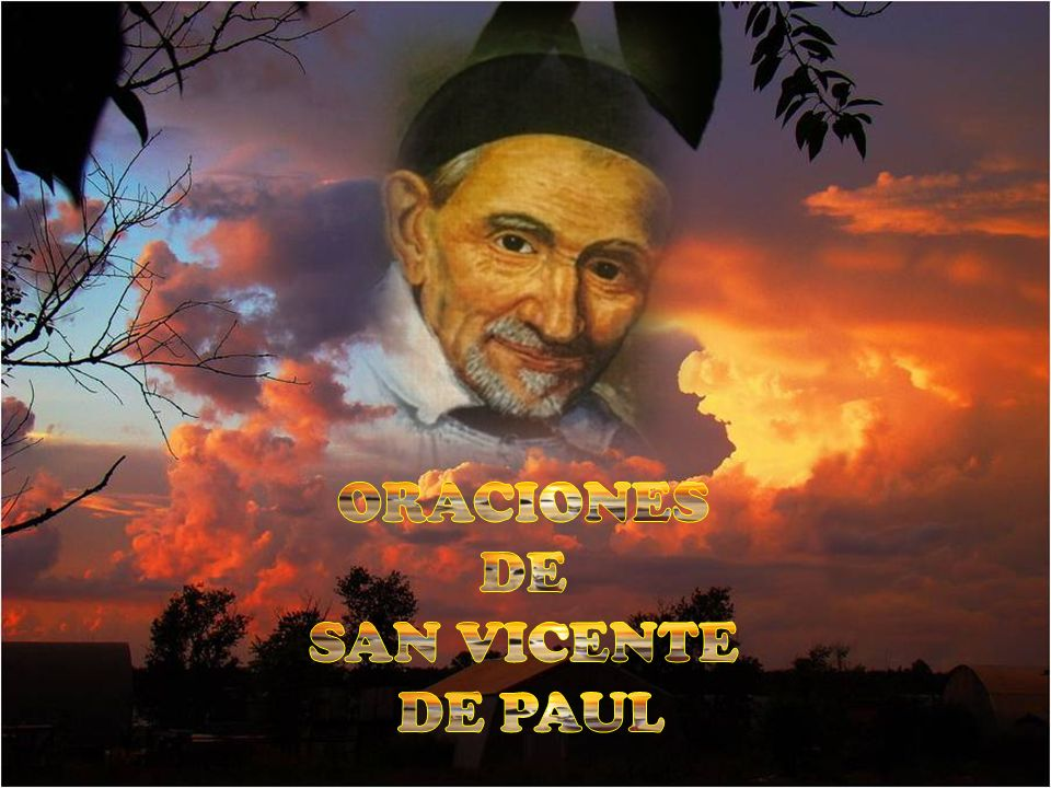 ORACIONES DE SAN VICENTE DE PAUL
