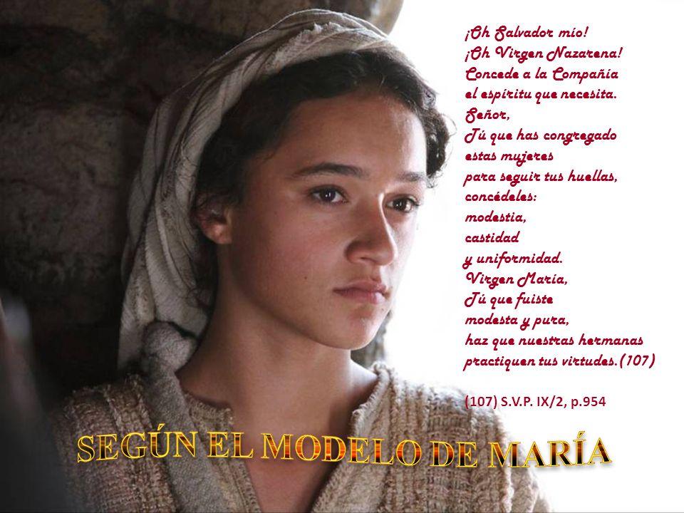 SEGÚN EL MODELO DE MARÍA