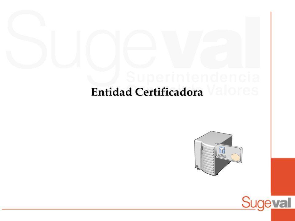 Entidad Certificadora