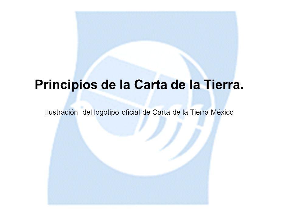 Principios de la Carta de la Tierra.