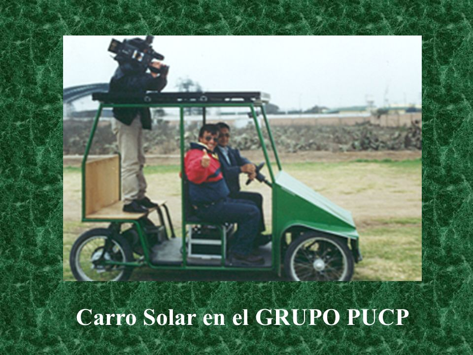 Carro Solar en el GRUPO PUCP