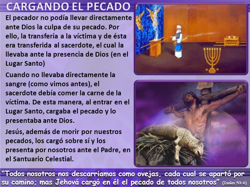 CARGANDO EL PECADO