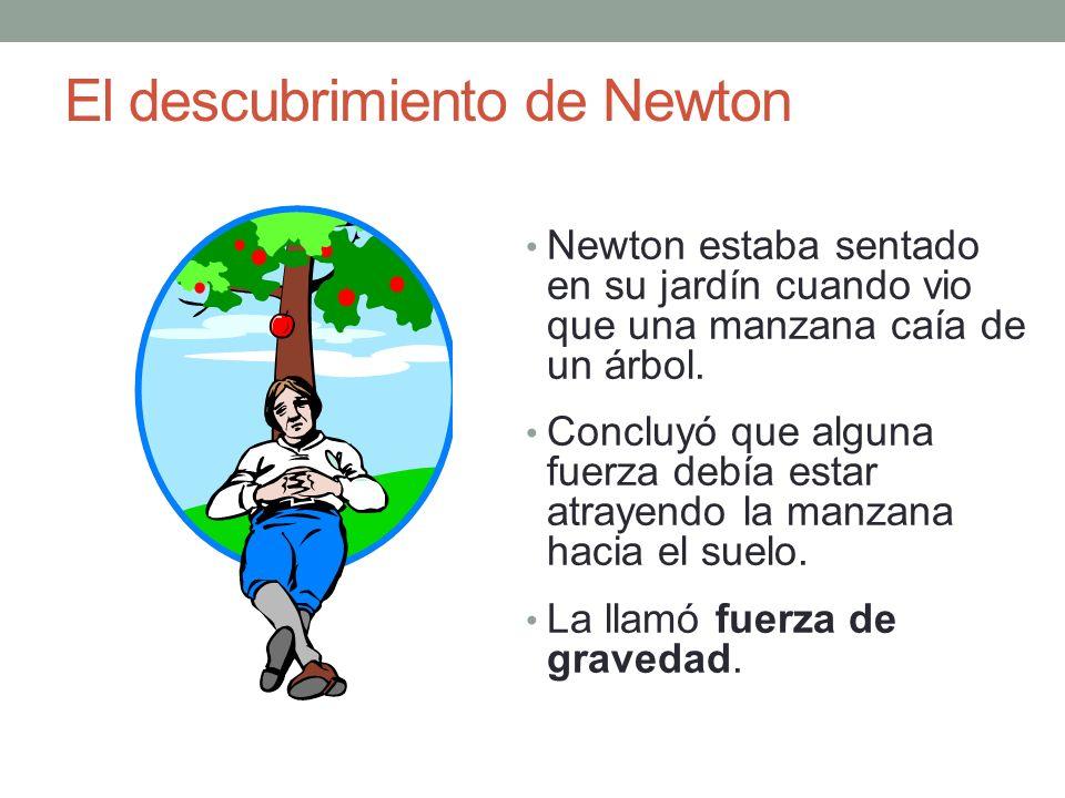 El descubrimiento de Newton