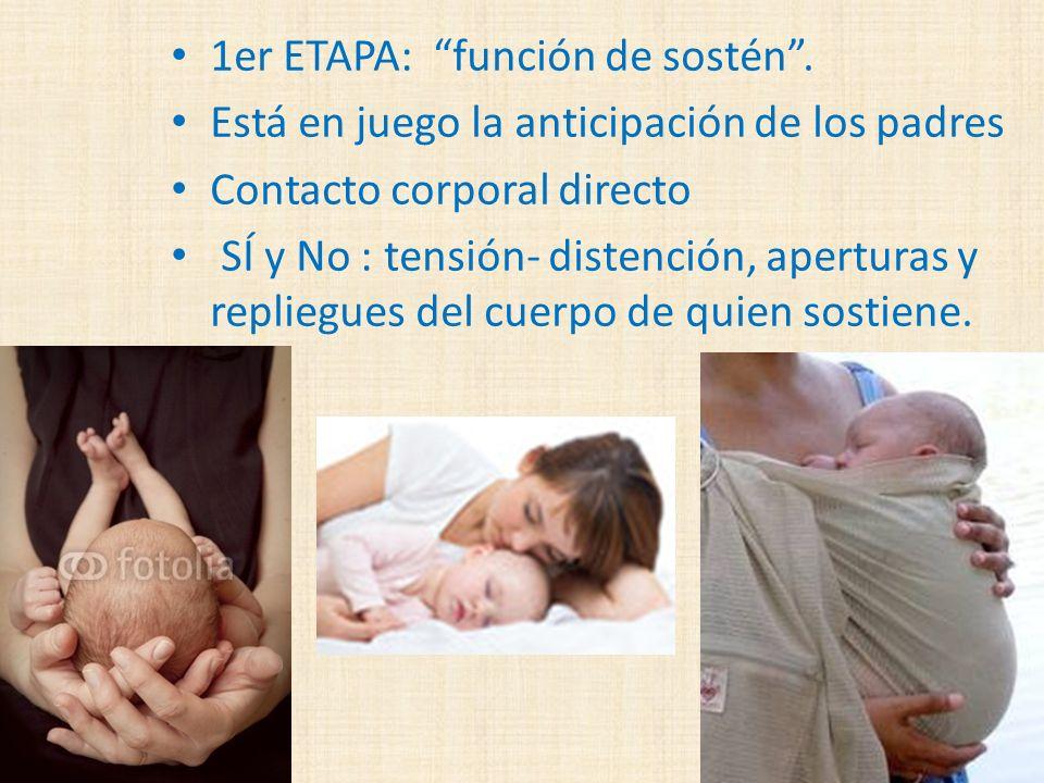 1er ETAPA: función de sostén .
