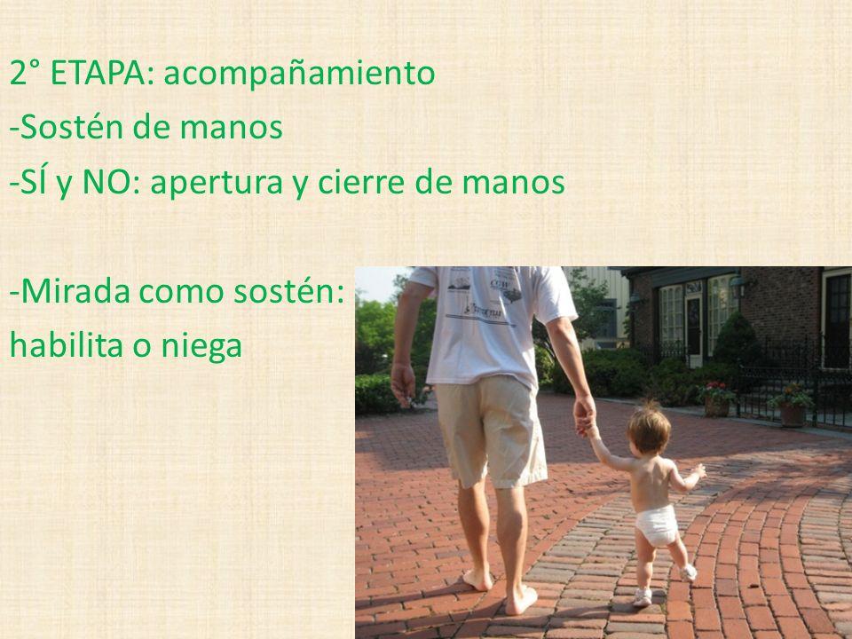 2° ETAPA: acompañamiento