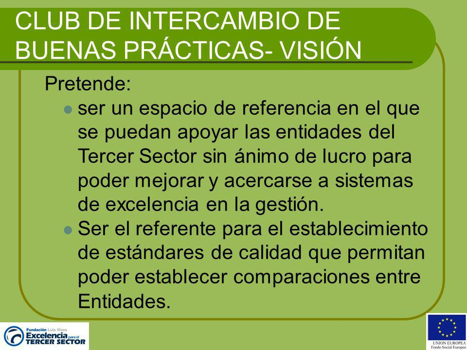CLUB DE INTERCAMBIO DE BUENAS PRÁCTICAS- VISIÓN