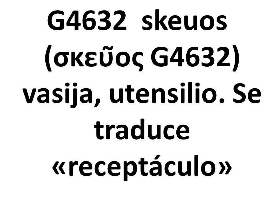 G4632 skeuos (σκεῦος G4632) vasija, utensilio