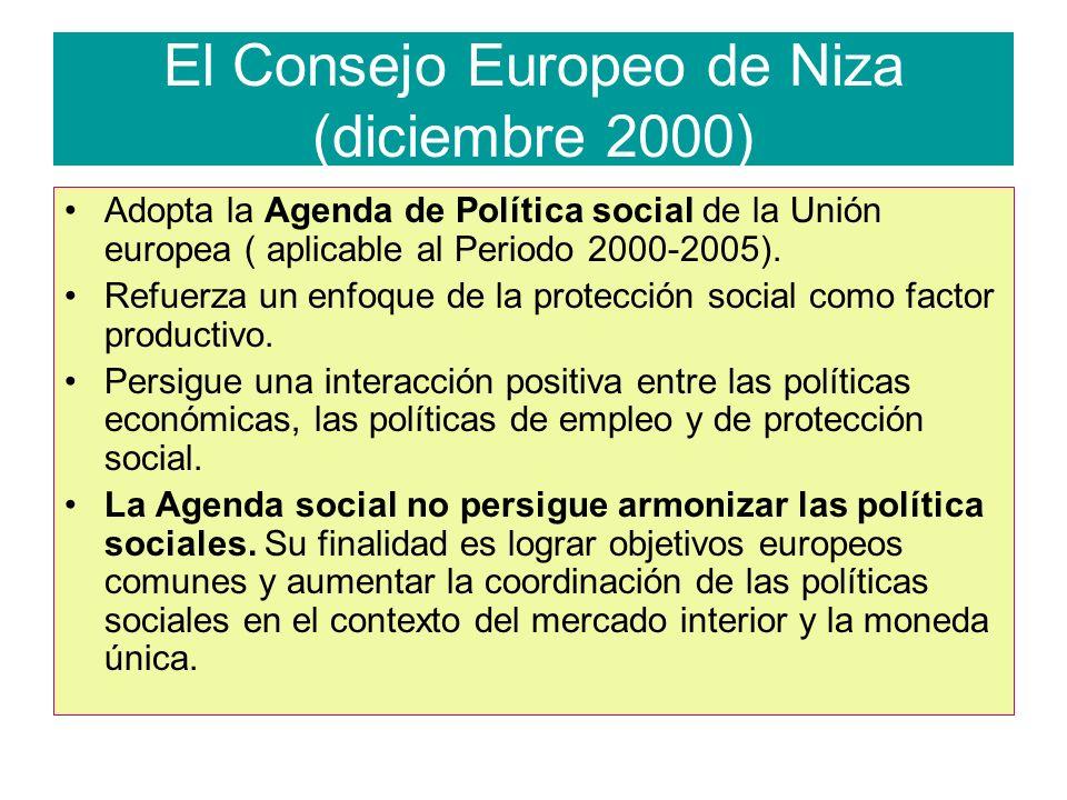 El Consejo Europeo de Niza (diciembre 2000)
