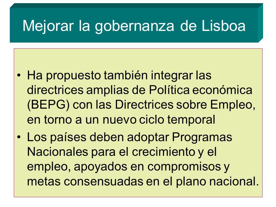 Mejorar la gobernanza de Lisboa