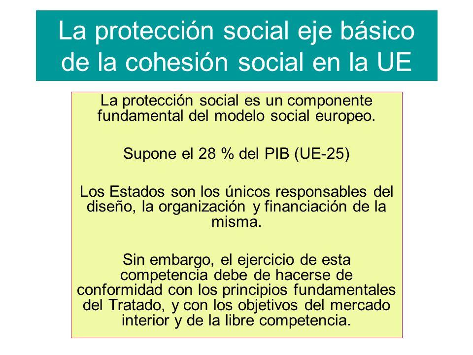 La protección social eje básico de la cohesión social en la UE
