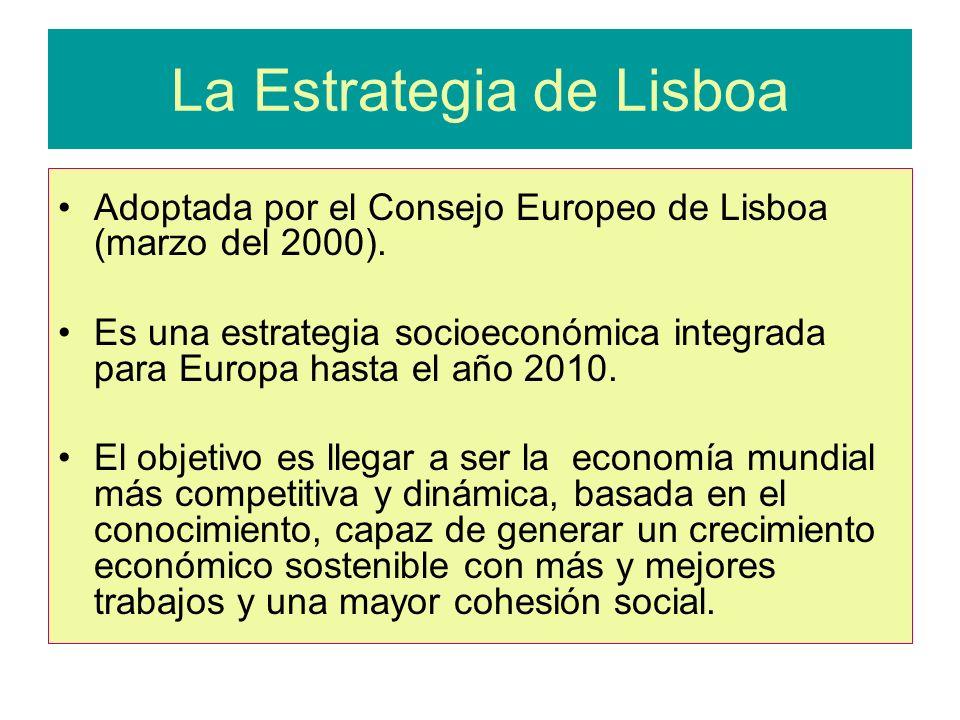 La Estrategia de Lisboa