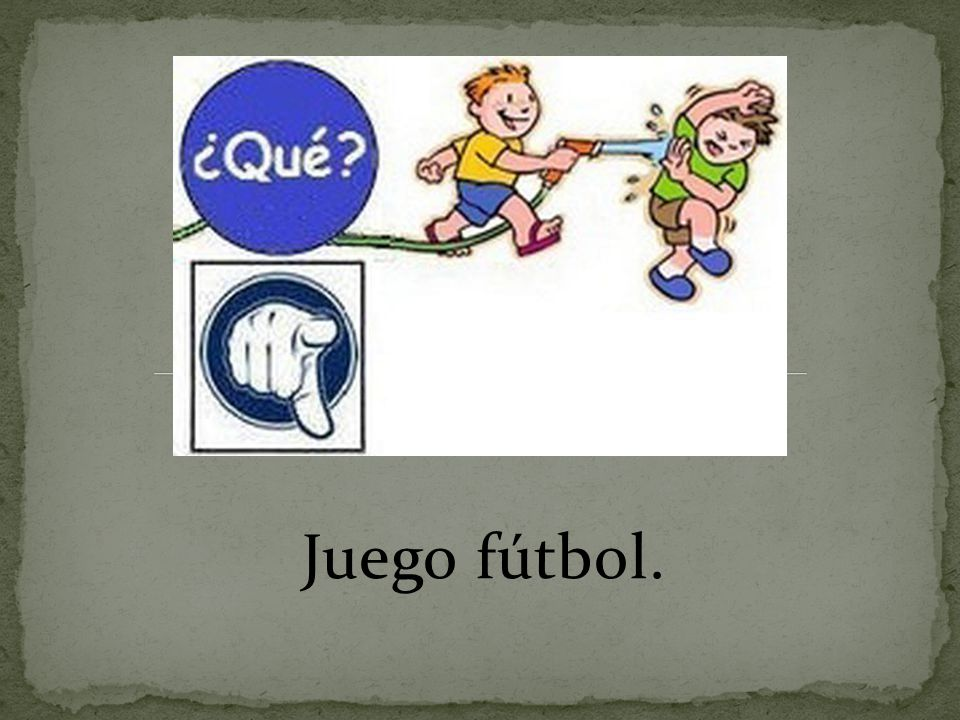 Juego fútbol.