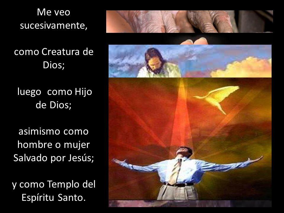 luego como Hijo de Dios;