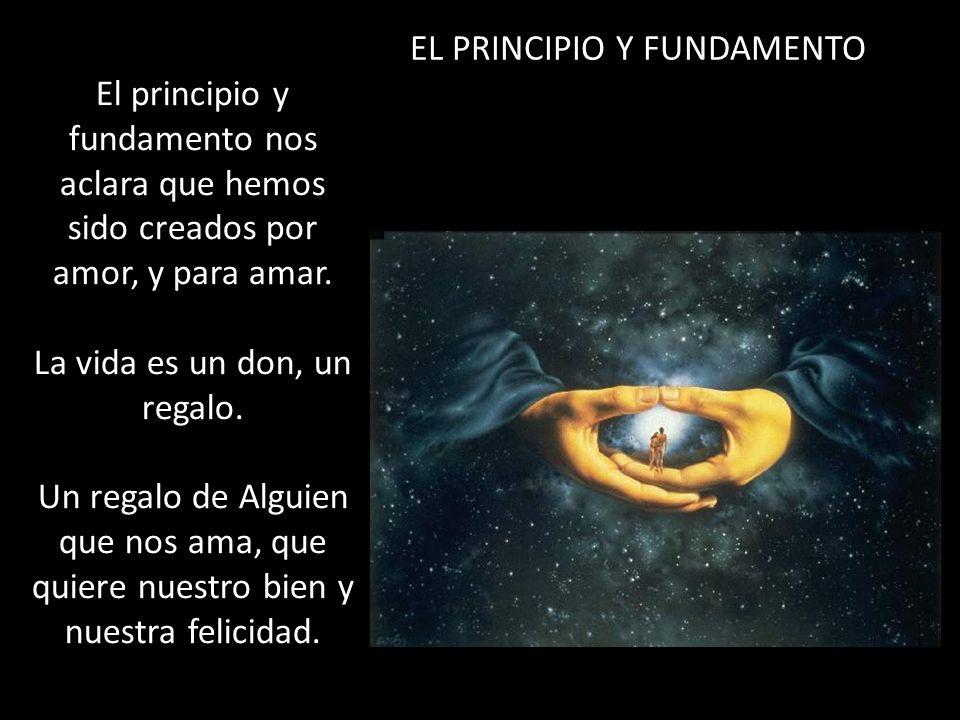 EL PRINCIPIO Y FUNDAMENTO