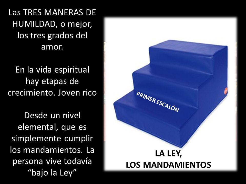 LA LEY, LOS MANDAMIENTOS