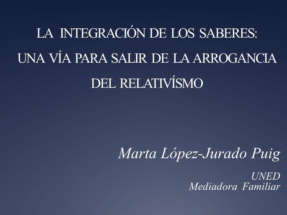 Marta López-Jurado Puig UNED Mediadora Familiar