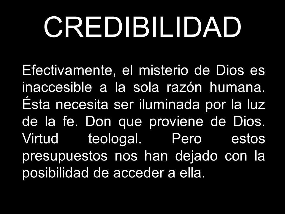 CREDIBILIDAD