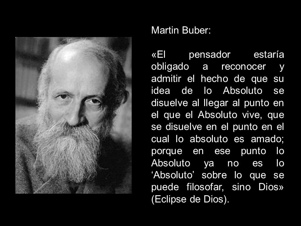 Martin Buber:
