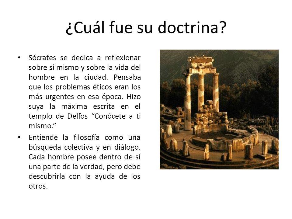¿Cuál fue su doctrina