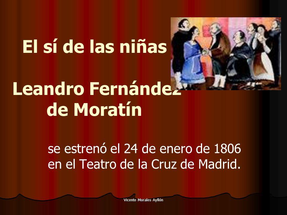 El sí de las niñas Leandro Fernández de Moratín
