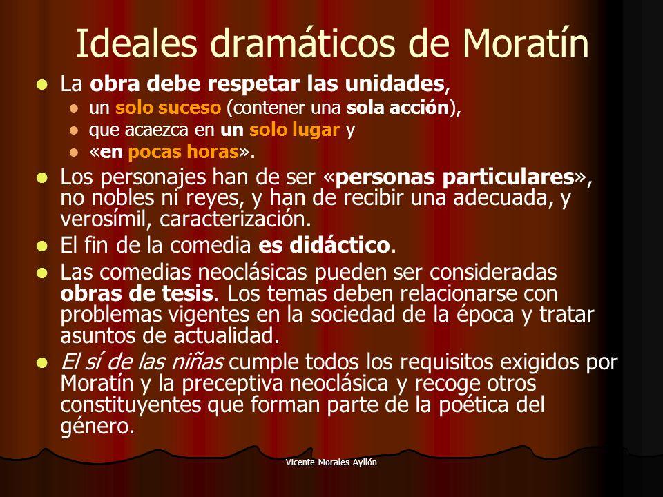 Ideales dramáticos de Moratín